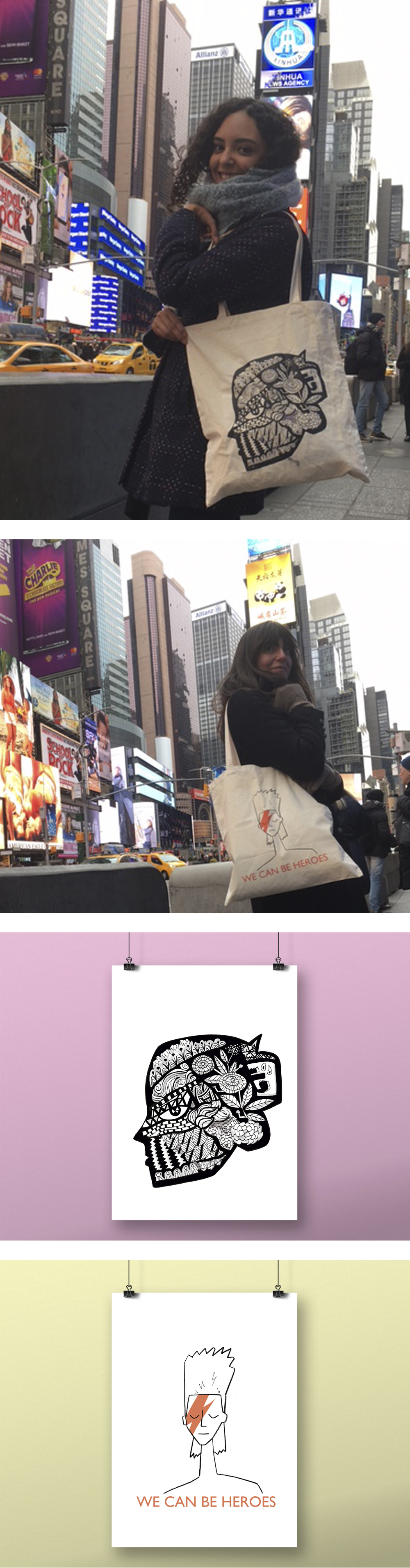 Tote bag and the City